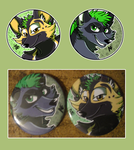 Custom Buttons- Reef by xAshleyMx