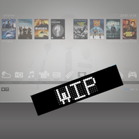 XBMC Skin (Unnamed) alpha Release by Tron50000