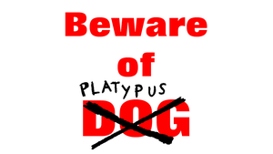 Beware of Dog by AgentBengalTiger