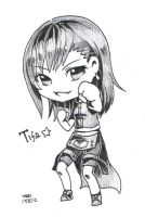 Commission-Tifa by christon-clivef