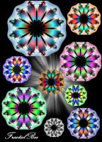 Fractal Flower Decoration Stock by FractalBee