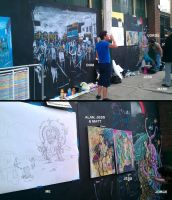 Live Art at FreedomHull by hesir