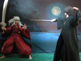Harry Has InuYasha At Bay... by M-Skirvin