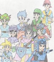 Dragon Quest Heroes OLD PIC by DragonQuestHero