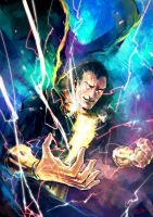 Black Adam by Haining-art
