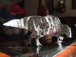 Ouranosaurus Aluminum Foil by Franchescco