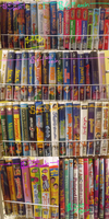 SEGAMew's VHS and DVD Liquidation Sales by SEGAMew