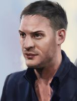 Tom Hardy study by JoshSummana