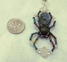 Beaded spider 2 by wombat1138