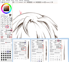 Paint Tool SAI. Crayon Settings by ayashige-doodles