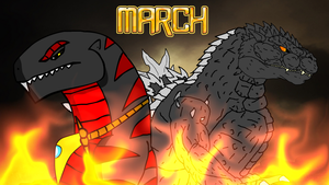 March - Monstrous Destruction by KingAsylus91