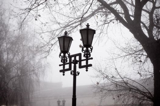 In the fog by MainRead