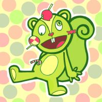 Nutty - Happy Tree Friends by Aki-H3