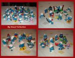 My Smurf Collection by acla13