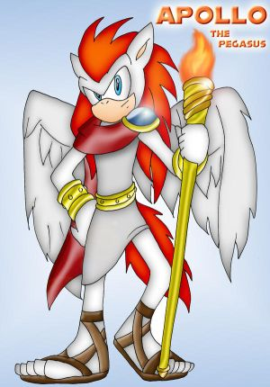 Char Design-Apollo the Pegasus