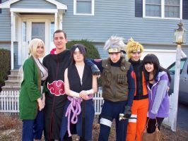 Naruto Group by MusketeersOfCosplay