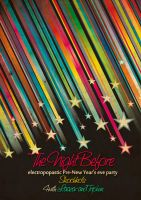 Night BEfore. Party Poster by Laazar