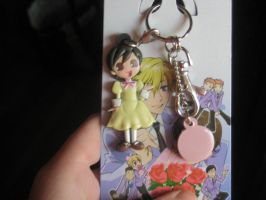 haruhi keychain.. what a cute!! by AphoticAlchemist