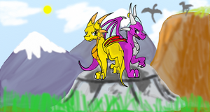 The Dragon Queens by Silver-Storm-Dragon