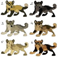 Adoptable Pups - Closed by MikacesAdopts