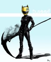 Celty - Durarara by WillJonesArt