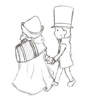 Descole and Layton by Gressenheller