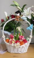 Flower Basket by Skrotee
