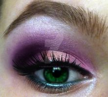 Makeup for Green Eyes by KatelynnRose