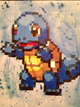 Squirtle by Jiggity-John-T