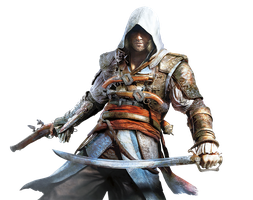 Assassin's Creed IV Black Flag Render by OutlawNinja