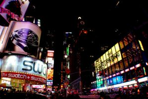 times square by thepaperlantern