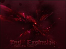 Red Explosion by FantasyPs