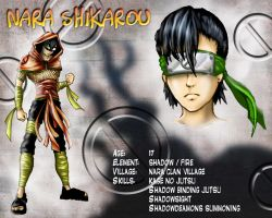 OC shikarou colour profile by BSylphir