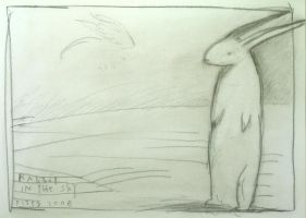 rabbit in the sky by SethFitts