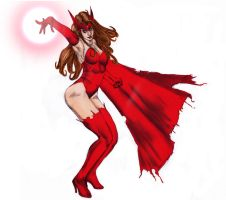 Scarlet Witch by Selkirk by carol-colors