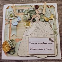 Cancer supportive card by KittenontheKeys