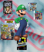 Luigi's Games by sonictoast