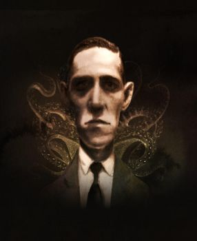 H P Lovecraft by Disezno