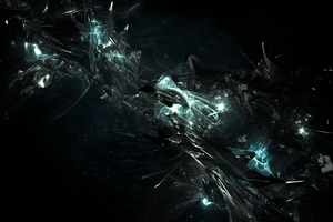 Icy Abstract by PortgasGFX