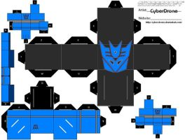 Cubee - Decepticon by CyberDrone
