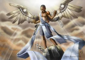 Chain Breaker Angel by Aaron-Radney