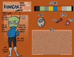 Ranagan: Official Reference Sheet by LiquidLeo