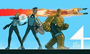 P:R submission: Fantastic Four by dio-03