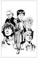 Doctor Who Classics Cover art by RobertHack