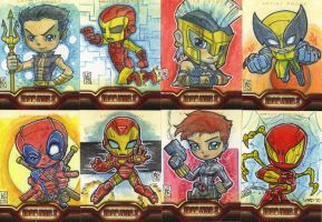 Iron Man 2 AP Cards 2 by lordmesa