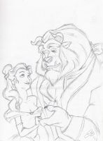 Beauty and the Beast by LOSTfan123