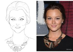 Leighton Meester Paint Tool Sai by sYsTeMhAyWiRe