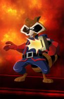 Rocket Raccoon by AndrewJHarmon