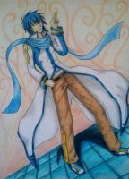 Commission: Kaito [Vocaloid] by leanimeaddict