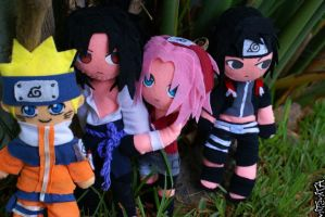 Team 7 plushes by nitanita